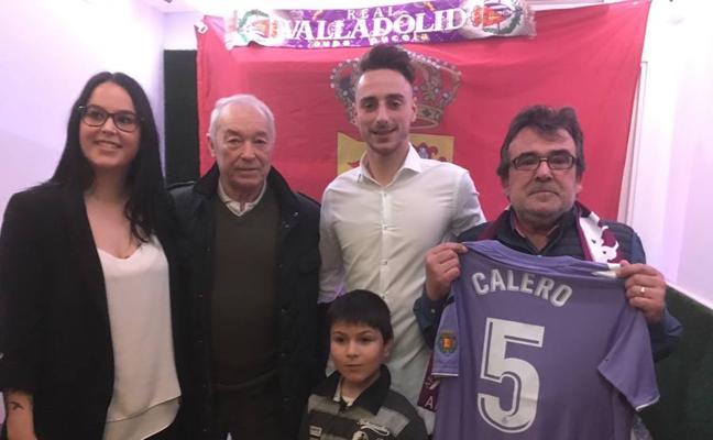Fernando Calero ya tiene su peña en Boecillo