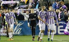 El Real Valladolid, peor en la segunda vuelta que en la primera