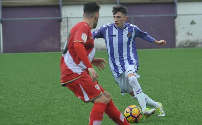 El Real Valladolid Juvenil se coloca cuarto tras golear al Alcobendas