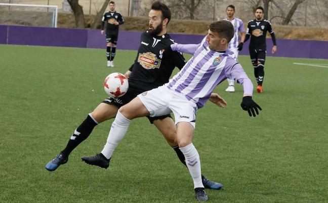 El Real Valladolid B puntúa en Toledo y sigue fuera de puestos de peligro