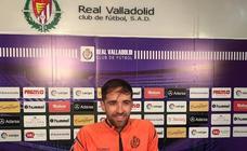 Míchel Herrero, jugador del Real Valladolid: «He pasado por uno de los peores momentos de mi carrera»