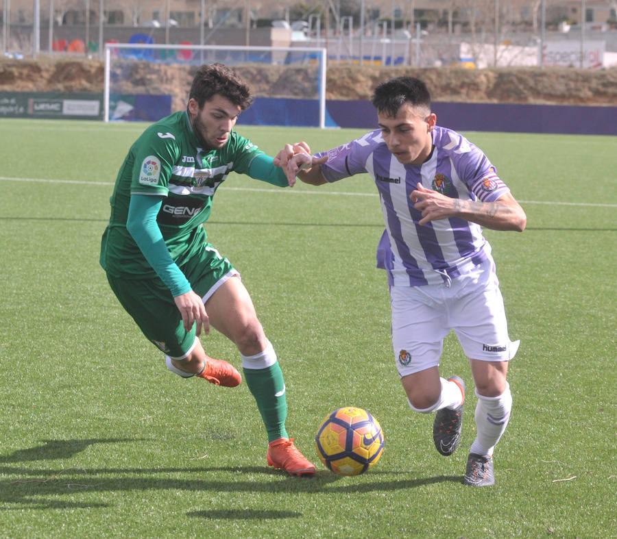 Real Valladolid Juvenil A 1-1 Leganés