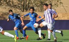 El Valladolid B suma en Fuenlabrada un empate que debió ser triunfo