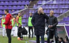 «Hemos defendido bien, con un buen Moyano como central y un Nacho que ayudó en ataque», dice Sampedro