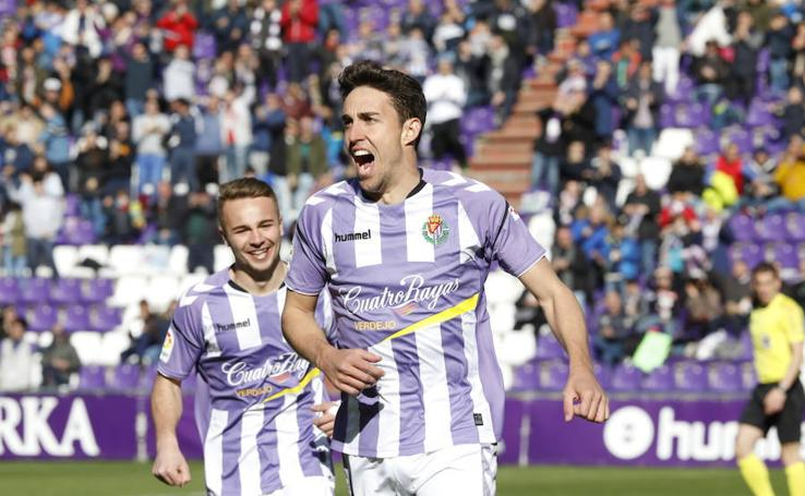 El Real Valladolid gana al Reus por un gol de Jaime Mata