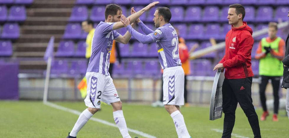Nacho tras volver a jugar con el Real Valladolid: «Lo he llevado muy mal; pasé de contar a desaparecer»