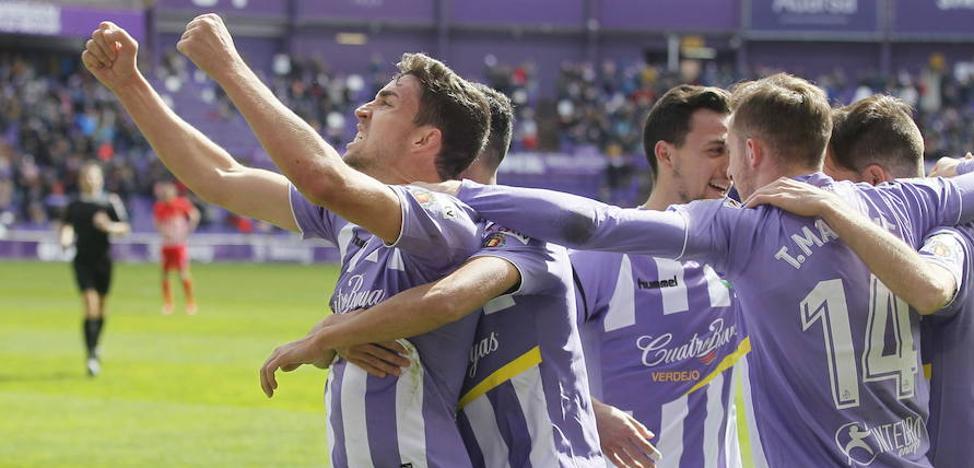 El Real Valladolid es el cuarto mejor equipo de la segunda vuelta