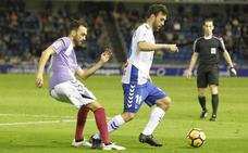 Deivid entrenando en los Anexos, única buena noticia en un Real Valladolid deprimido