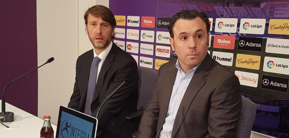 El nuevo técnico del Pucela llega para «agitar el árbol y ganar al Sporting»