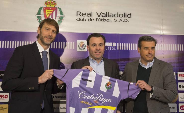 Presentación y primer entrenamiento del nuevo técnico del Real Valladolid