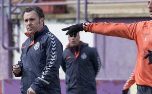 Sergio González tiene claro cómo afrontar el Real Valladolid-Sporting, pero no quiere dar pistas