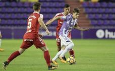 Sergio da continuidad a Sampedro en su primera convocatoria al frente del Real Valladolid