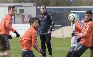 Sergio llega a Oviedo apoyado en la cantera