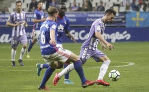 El Real Valladolid gana en Oviedo y sigue creyendo en el 'play-off'