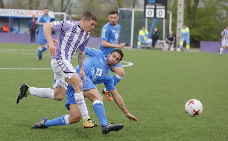 El Real Valladolid B pierde ante el Pontevedra