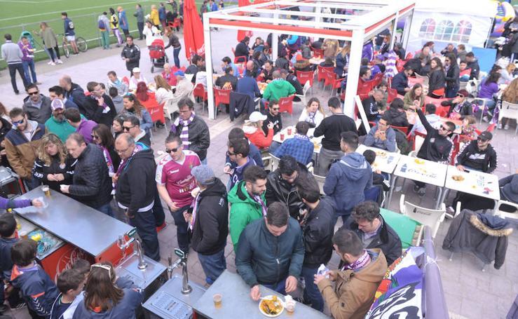 Comida de peñas del Real Valladolid