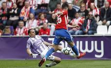 Nacho entra en la convocatoria del Real Valladolid para enfrentarse este sábado al Numancia