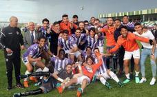 El Real Valladolid B sella la permanencia en Segovia a falta de una jornada