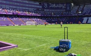 En Zorrilla y con Mata de descanso, así prepara el Real Valladolid el encuentro ante el Lorca