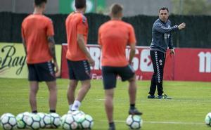 «Estamos en el mejor momento para afrontar el partido contra el Zaragoza», asegura Sergio