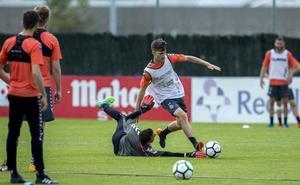 Sergio viaja a Zaragoza con todos los disponibles