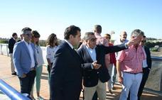 Inaugurada la pasarela peatonal sobre la A-62 en Arroyo