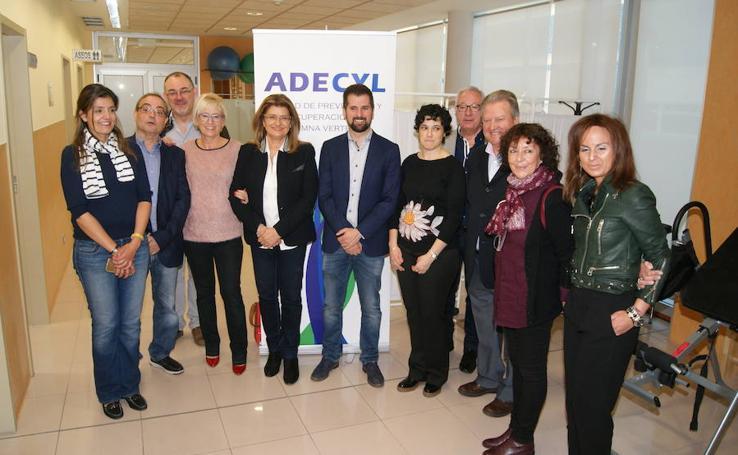 Visita de Luis Tudanca (PSOE) nuevas instalaciones de ADECYL en Arroyo