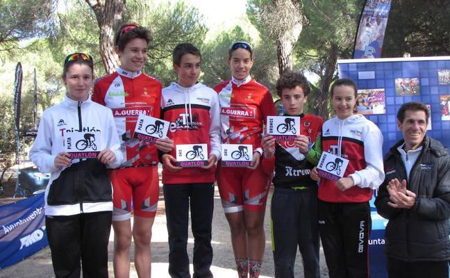 Arranca la temporada de la Escuela de Ciclismo de Arroyo