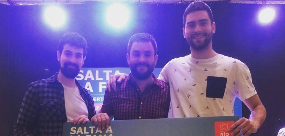 Aitor Goitia, ganador de la V edición de Salta a la Fama en RÍO Shopping