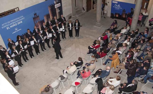 La Coral Támbara cantó en Ávila en el concierto de clausura de la Dulce Tentación