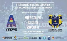 Gerovida Arroyo y Cangas estrenan el Memorial Antonio Garnacho de balonmano