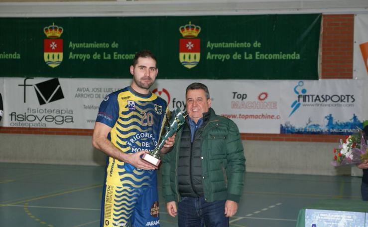 Primer Memorial Antonio Garnacho de balonmano (Gerovida-Cangas)
