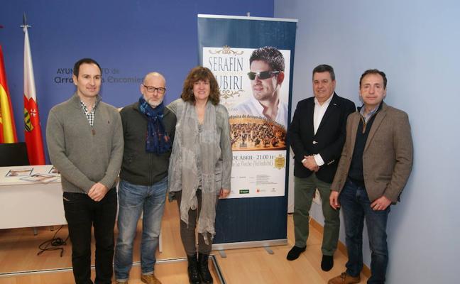 Serafín Zubiri y la Banda Sinfónica de Arroyo recordarán a Nino Bravo