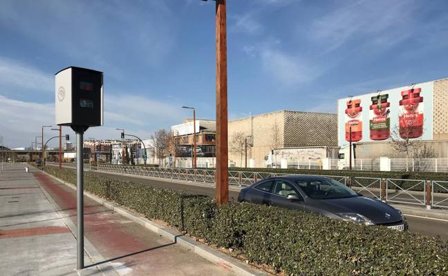 Comienza a multar el nuevo radar de la avenida Salamanca, en Arroyo