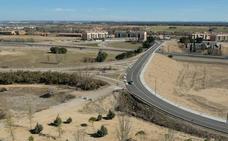 El Ministerio de Fomento prevé una compleja rotonda en Arroyo que permita acceder desde el municipio a la A-62 dirección Burgos