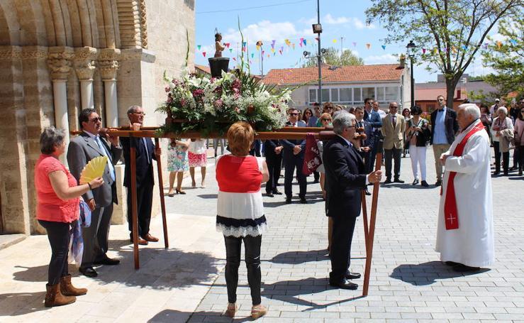 Fiestas de Arroyo. Procesión de San Juan Evangelista