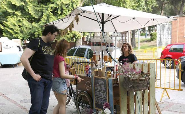Palencia sale a la calle en la Feria Chica