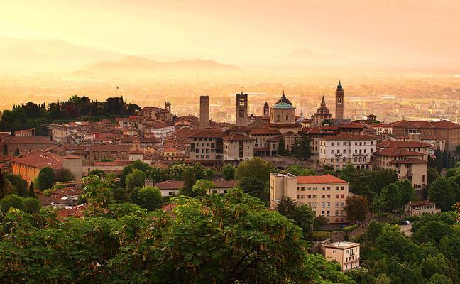Bérgamo, una coqueta ciudad del norte de Italia