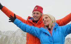 Elsa Pataky hace cumbre en el Himalaya