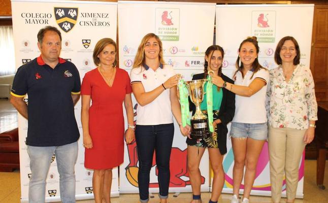 Iberdrola y la Federación Española de Rugby presentan la Copa de la Reina