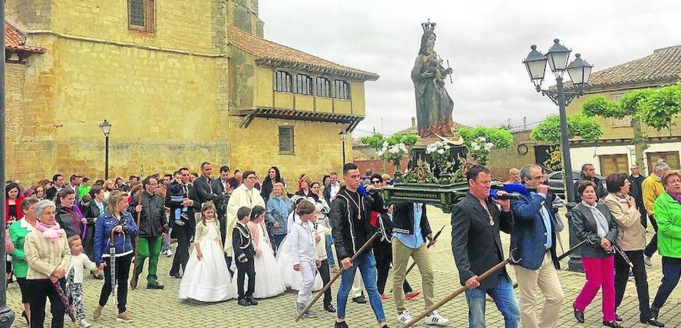 San Cebrián de Campos, de fiesta con su patrona