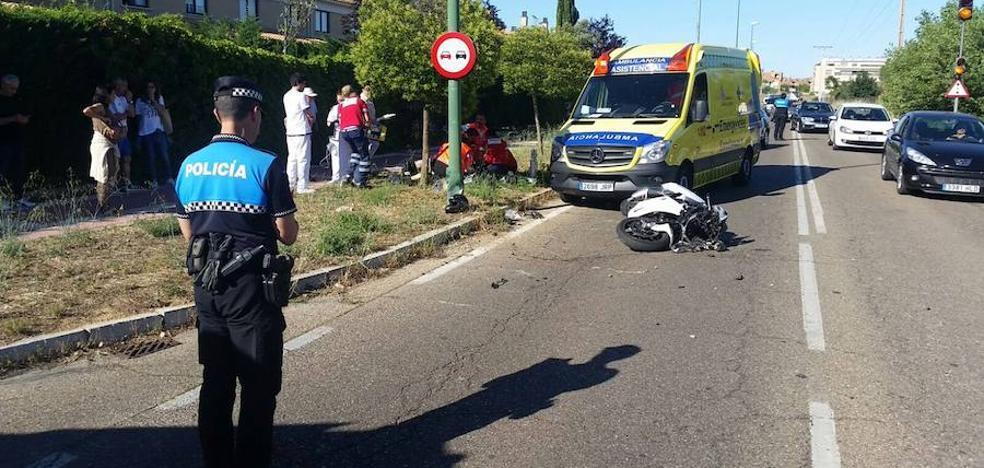 Dos accidentes con motos dejan un fallecido y dos heridos