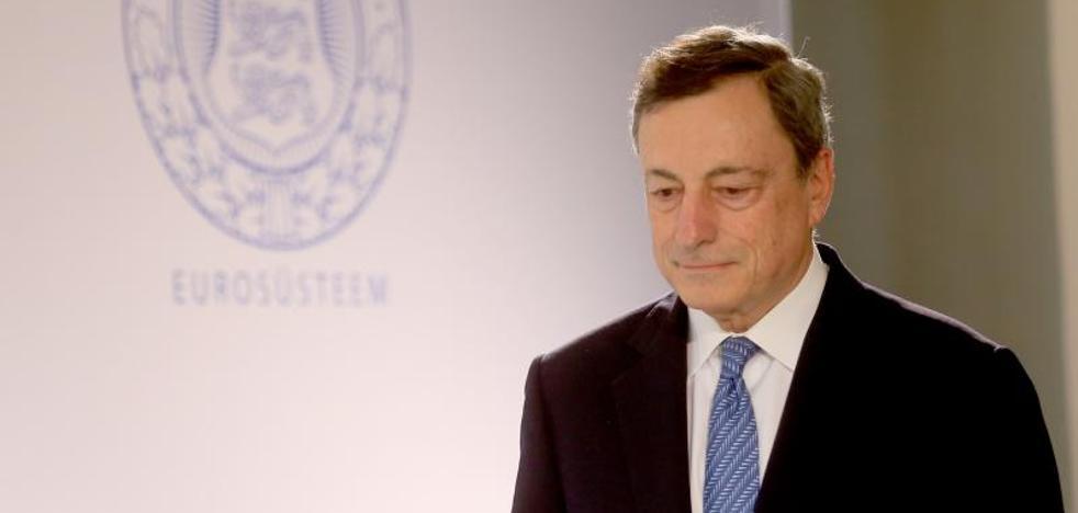 Draghi aplaude la «oportuna» intervención de Banco Popular