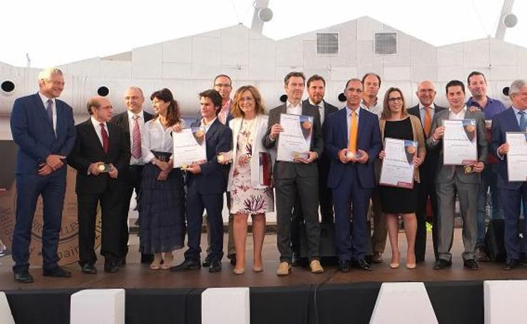 Entrega de premios del Concurso Mundial de Bruselas en Valladolid