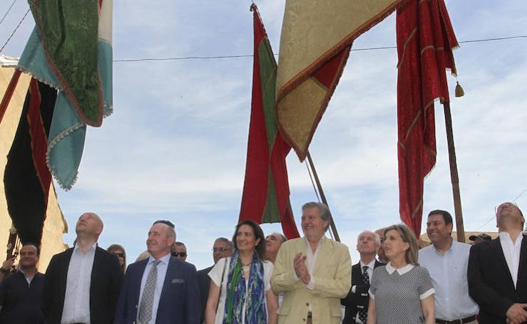 Méndez de Vigo, ministro de Educación, Cultura y Deporte, en Palencia