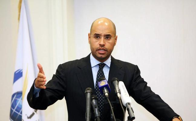 Liberan a Saif al Islam, segundo hijo de Gadafi, retenido desde 2011