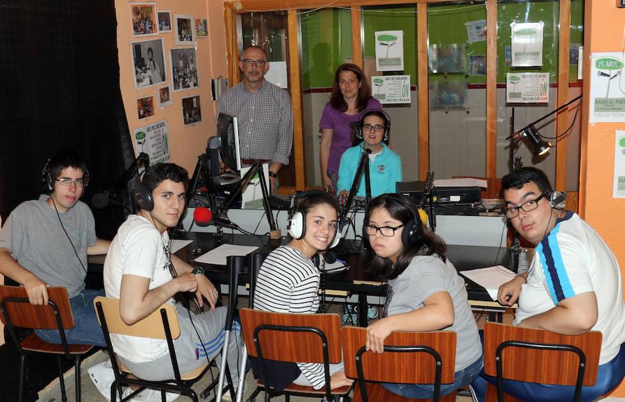 Bodas de plata del taller de radio de Asprona