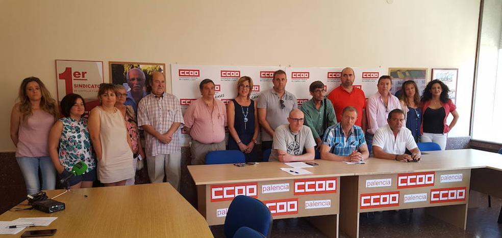 CC OO de Palencia se moviliza contra el despido de uno de sus delegados