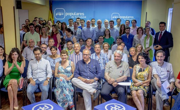 El PP de Valladolid arranca su actividad bajo la presidencia de Carnero