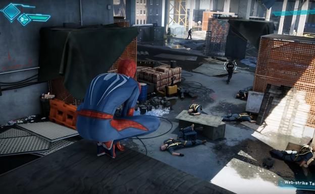 Una captura de 'Spider-Man'.